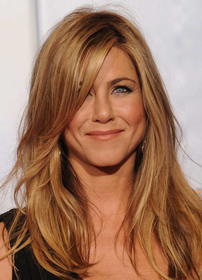 Jennifer Aniston Blonde Hair Color